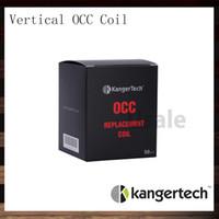 Kanger Subtank Вертикальные OCC Катушки V2 0.5 1.2 1.5 Ом Замена Kangertech Subtank Катушка из органического хлопка OCC Катушка 100% оригинал