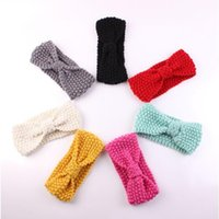 headbands crochet head wrap winter baby girls ear warmer kni...
