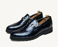 2017 Hot sales Men Dress Wedding Shoes Patent Leather Luxury...