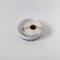 50 x Rolls Brother DK 22210 2210 Kompatibla termiska etiketter 29mm x 30.48m QL 500 550 560 570 580 700 720 1050
