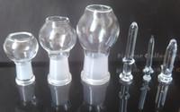 Tüm boyutu cam bong kubbe ile tırnak 10mm 14.4mm 18.8mm kubbe + tırnak cam kase 10mm 14mm 18mm ortak ücretsiz kargo