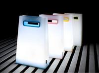 Yenilik dokunmatik pratik gece lambası, enerji tasarruflu usb şarj edilebilir okuma lambaları, çanta kitap ışık, hareketli aydınlatıcı