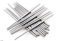 Ev Mutfak Yemek Paslanmaz çelik çubuklar Çin Çubuklarını Mutfak Rrestaurant Çubuklarını dhl tarafından