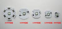 Epileds 3W UV 430-435NM 3.4-3.8 V 700mA Led Chip Light 8MM / 12MM / 14MM / 16MM / 20MM 50pcs / lot