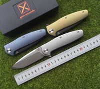 X- 750 NEW folding knife Ball bearing VG- 10 blade Titanium ha...