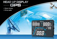 "Car HUD GPS Head Up Display 5. 5"" Colorful LED Dashboard..."