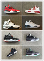 4 OG bred toro bravo white cement fear pack Oreo Basketball ...