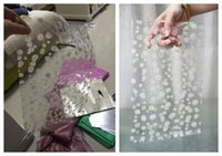 lot= 380pcs 9*12cm Chrysanthemum flower transparent gift bag...