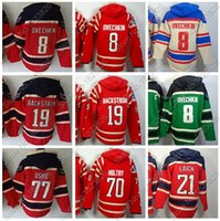 Factory Outlet, 2015 Washington 8 Alex Alexander Ovechkin Hoody 70 Braden Holtby Hockey sur glace à capuchon Old Time 21 Brooks Laich 19 Nicklas Backs