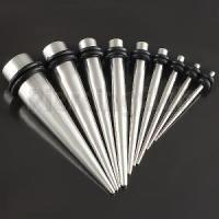 90 pz / lotto mix 1.6-10mm in acciaio inox Ear Stretching Tapers Expander Plugs Tunnel Body Piercing Kit di gioielli Calibri Bulk Orecchino Pr