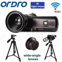 "ORDRO HDV- D395 Full HD 1080P 18X 3. 0"" Touch Digital Came..."