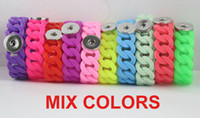 NOOSA chunks snap button jewelry silicone twist Noosa Bracel...