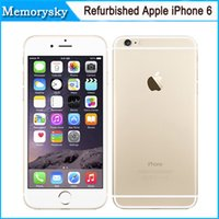 Original Unlocked Apple iPhone 6 Сотовые телефоны 4.7'IPS 1GB RAM 16/64 / 128GB ROM GSM WCDMA LTE iPhone6 ​​Mobile Восстановленный телефон 002863