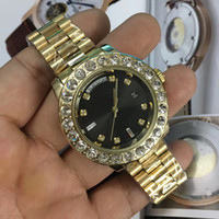 Luxury Brand AAA watches Super N President Day Date 18K Gold...