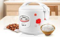 4L التجاري طبخ الأرز YJ408J باخرة غير لاصقة الفولاذ المقاوم للصدأ وعاء الداخلية شراء الكهربائية طبخ الأرز أفضل تصنيف الغذاء الصين باخرة 220V