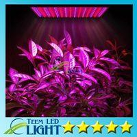 LED تنمو مصباح 225 الصمام النباتات المائية تنمو لوحة ضوء أحمر / أزرق 15W أدى النبات تنمو أضواء 225 المصابيح أضواء لوحة 110-220V 20