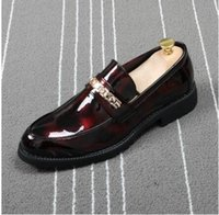 Men' s Dress Shoes Luxury Moccasin Leather Casual Drivin...