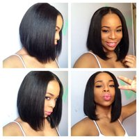 Bob Human Hair Lace Wigs 100% Unprocessed Virgin Human Hair ...