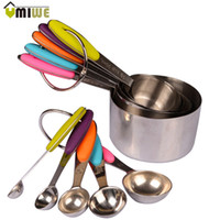 10pcs Set Kitchen Tools And Cooking Stainless Steel Measurin...