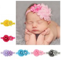 2018 Special Offer Real Kids Hairbands Handmade Flower Elast...