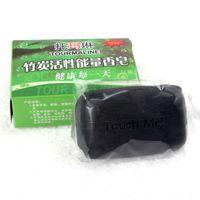 FG 1509 1 조각 자연 블랙 대나무 숯 비누 얼굴 및 바디 목욕 비누 여드름과 제거 Blackheads 무료 배송
