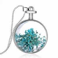 Can not be opened floating locket Pendants creative plant sp...