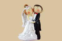 FEIS atacado Real Multi Casamento Decoração Do Noivo E Noiva Poly Resina Bolo Topper Melhor Romance Doce bolo acessório do casamento suprimentos