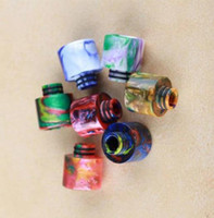 Epoxy Resin 510 Drip Tips bore ancho Drip Tip Atomizer 510 Boquillas para TFV8 BABY tanque Drip Tips