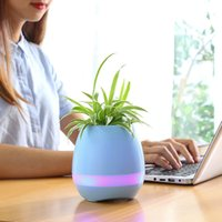 Smart Wireless Bluetooth Music Flowerpot Speaker Chrismas gi...