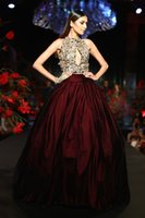 Burgundia satynowa spódnica piłka kształt formalne spódnice z halkami na wolne prom wieczorowe party kobiety moda spódnica niestandardowe wykonane ruffles plisy