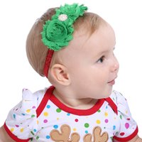 Christmas Infant Hair Bands Flower Headbands for Children Ch...