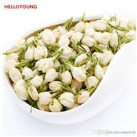 Предпочтение 50г Китайский Органический зеленый чай Ранняя весна жасмин Fragance Сырые чай Health Care New Spring Tea Green Food