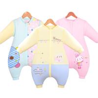 Automne et hiver sacs de couchage pour bébé nouveau-nés en coton plus épais et bande dessinée Blanket Sleepers