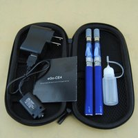 더블 자아 T 스타터 키트 전자 담배 CE4 기화기 분무기 clearomizer 650mah 900mah 1100mah 자아 T 배터리 자아 vape 펜 듀얼 키트