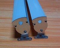 送料無料2m / PC 44PCS /ロットLEDのLEDのLEDのLEDストリップのアルミニウムチャンネル、防水アルミニウムハウジング