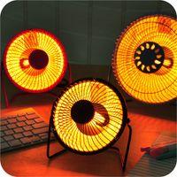 Envío gratis 4 pulgadas 14x13cm escritorio portátil Mini pequeño calentador de sol calefacción eléctrica Calentador eléctrico TERMAL TERMAL 280W CYA12