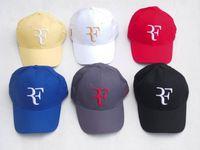 Toptan-2015 yeni moda yüksek kaliteli yaz tarzı roger federer şapka beyzbol şapkası snapback şapka hip hop kapaklar teenis şapkalar ücretsiz kargo