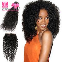 8a brazilian hair curly kinky 3 bundles with closure human h...