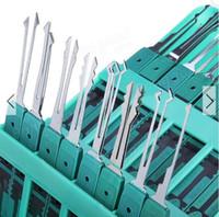 Klom 32 조각 잠금 후크 도구 세트 잠금 오프너 자물쇠 도구를 선택하십시오