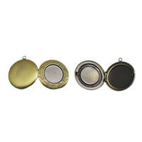 Beadsnice Vintage Medaillon leere Foto Medaillon benutzerdefinierte Foto graviert Medaillon Halskette Erkenntnisse liefert nickelfrei und bleifrei ID 3320