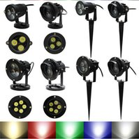 DHL FreeLanscape Lighting AC85- 265V 6W  10W Lawn Spot Lamp 1...