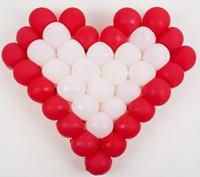 60 cm en forma de corazón globo de rejilla modelado DIY cumpleaños decoración de la boda decoraciones de la boda Romance ambiente envío gratis FD02