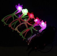 Retail 5pcs Children LED Glasses Luminous glass Flash Light ...