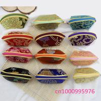 freies Verschiffen 20pcs die chinesische Art, die alten Weisen Flügel Pakete Geschenkbeutel Schmuck Beutel Kleines Portemonnaie / Schlüsseltasche