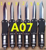 뜨거운 mi 트로 드 A07 7 모델 A15 A16 A016A017 A018 A019 사냥 접는 포켓 칼 생존 나이프 벤치 남성용 벤치 크리스마스 선물