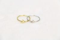 Mulheres homens anel crescente talão liga de zinco resíduos Bague conjunta anel mulheres tesouro Midi anel festival melhor presente