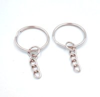 50pcs Hot Sale Key Chain & Key Ring With Link Chain 1. 4*25mm...