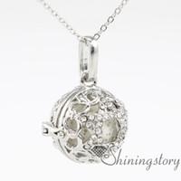 дерево жизни девушки медальон ожерелье масло диффузор diy диффузор ожерелье детский медальон ожерелье ароматерапия ювелирные изделия