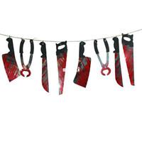 Spooky Halloween-Party-Geisterhaus Hängen Garland Pennant Banner Dekoration