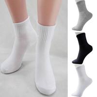 Wholesale-5 Paar Praxis Herren Socken Winter thermische beiläufige weiche Baumwolle Sport Socke Geschenk Kleidung Zubehör